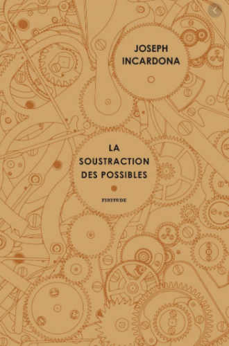 joseph incarna, la soustraction des possibles, éditions finitude